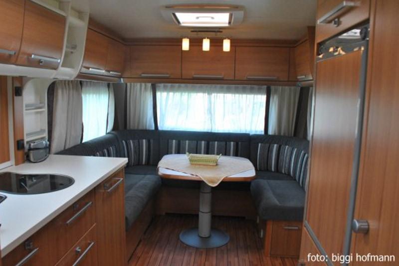 Mietwohnwagen 550 UF